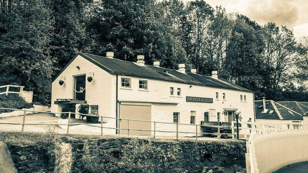 Edradour Distillery Still House Golden Toned Fine Art Print
