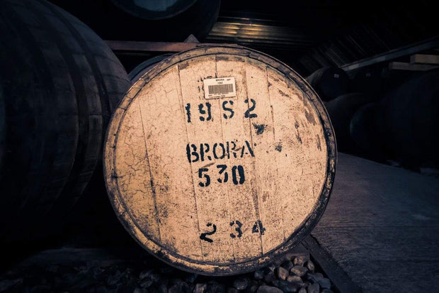 Brora 1982 Cask Fine Art Print by Wandering Spirits Global