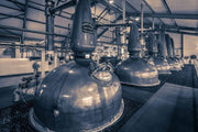 Spirit and Wash Stills Laphroaig Distillery Purple Toned Fine Art Print