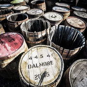 Dalmore Distillery Casks Fine Art Print by Wandering Spirits Global