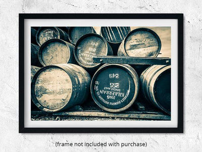 Kilkerran 2005 Cask Golden Toned Fine Art Print by Wandering Spirits Global
