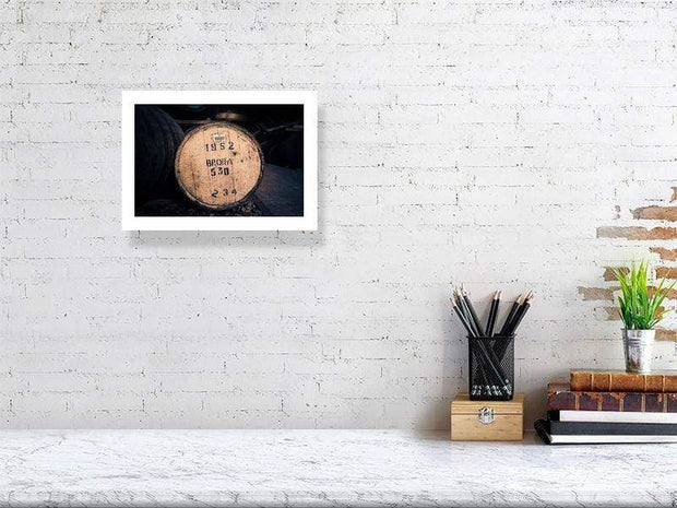 21.1 cm x 29.7 cm, 8.3 inches x 11.7 inches Brora 1982 Cask Fine Art Print by Wandering Spirits Global