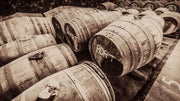 Port Casks Springbank Sepia Toned Fine Art Print