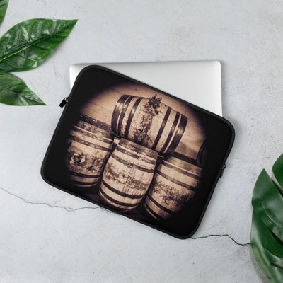 13 in Octave Casks Sepia Toned Laptop Sleeve by Wandering Spirits Global
