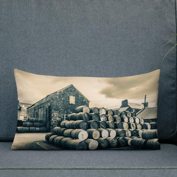 Empty Casks Glengyle Golden Toned Premium Pillow