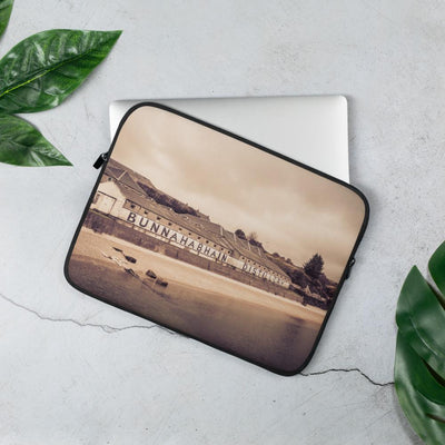 13 in Bunnahabhain Distillery Soft Colour Laptop Sleeve by Wandering Spirits Global