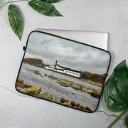 15 in Lagavulin Distillery Soft Colour Laptop Sleeve by Wandering Spirits Global