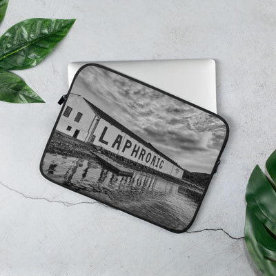 13 in Laphroaig Distillery Laptop Sleeve by Wandering Spirits Global