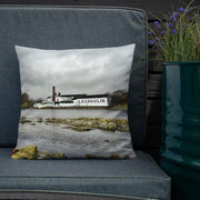 18×18 Lagavulin Distillery Soft Colour Premium Pillow by Wandering Spirits Global