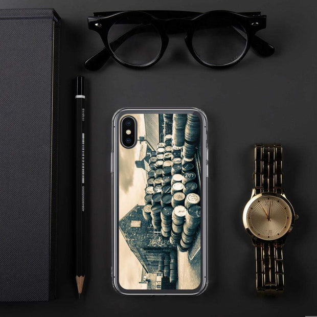 iPhone X/XS Empty Casks Glengyle Golden Toned iPhone Case by Wandering Spirits Global