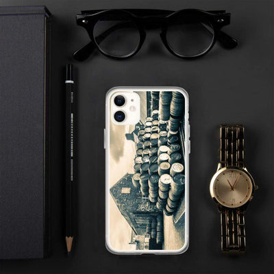 iPhone 11 Empty Casks Glengyle Golden Toned iPhone Case by Wandering Spirits Global