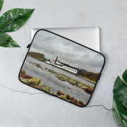 13 in Lagavulin Distillery Soft Colour Laptop Sleeve by Wandering Spirits Global