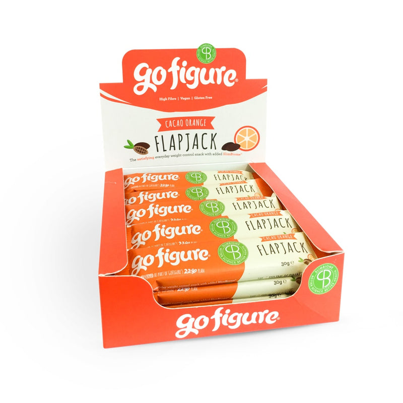 GoFigure Cacao Orange Flapjack Containing SlimBiome