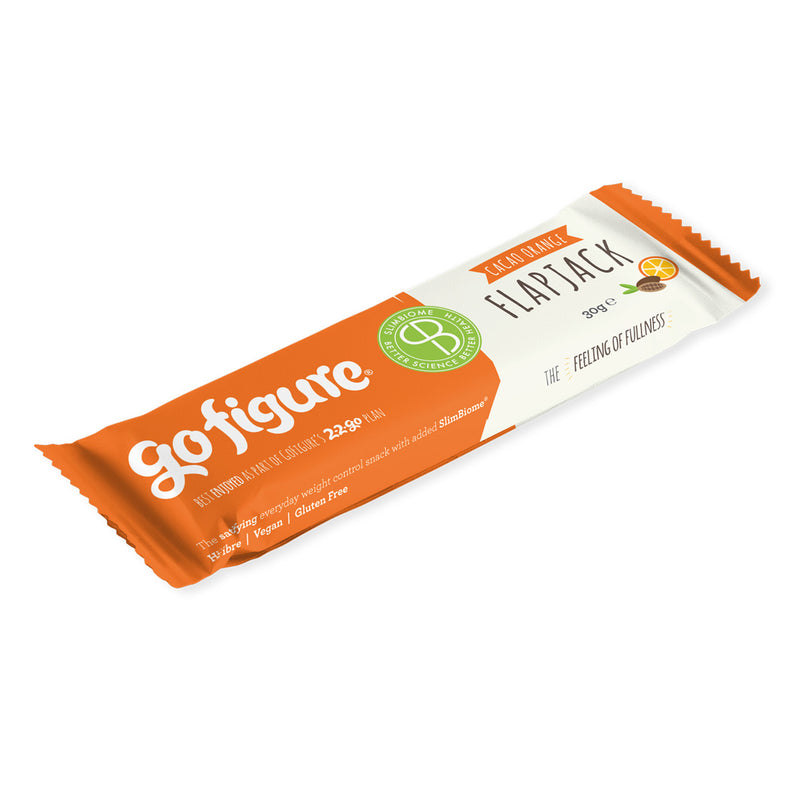 3 Bars | Flavour Taster | GoFigure Energy-boosting Flapjacks With SlimBiome®