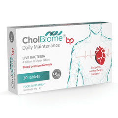 CholBiome®BP - Probiotic Supplement, 30 Tablets