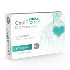 CholBiome®X3 Probiotic Supplement - OptiBiotix Online