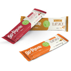 GoFigure Cranberry Coconut Flapjack Snack Bar Containing SlimBiome