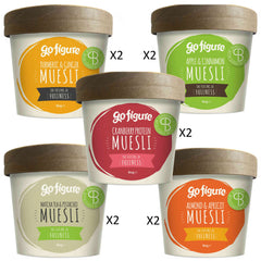 GoFigure Muesli Pots Containing SlimBiome