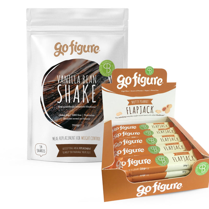 Taster Pack | One Week | Cacao Chocolate Shake and Cranberry Coconut Flapjack - OptiBiotix Online