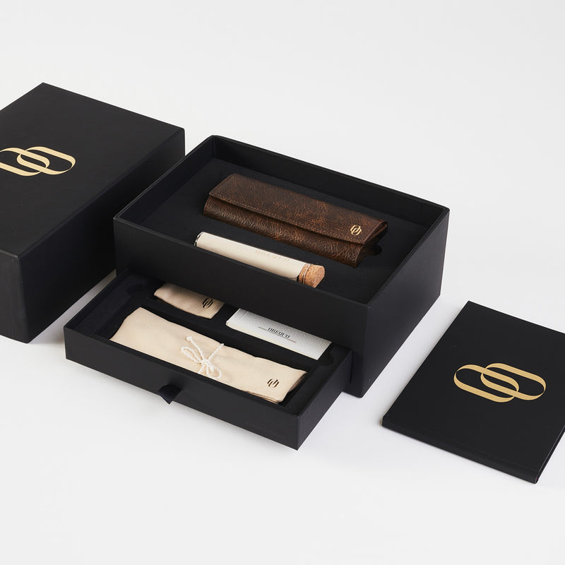 Medioeva sunglasses luxury packaging