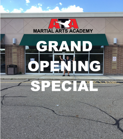 ATA Hermitage Grand Opening Advanced Sale Free Uniform Included