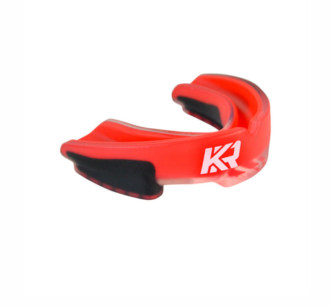 KRBON Pro Series Mouthguard with Case Red