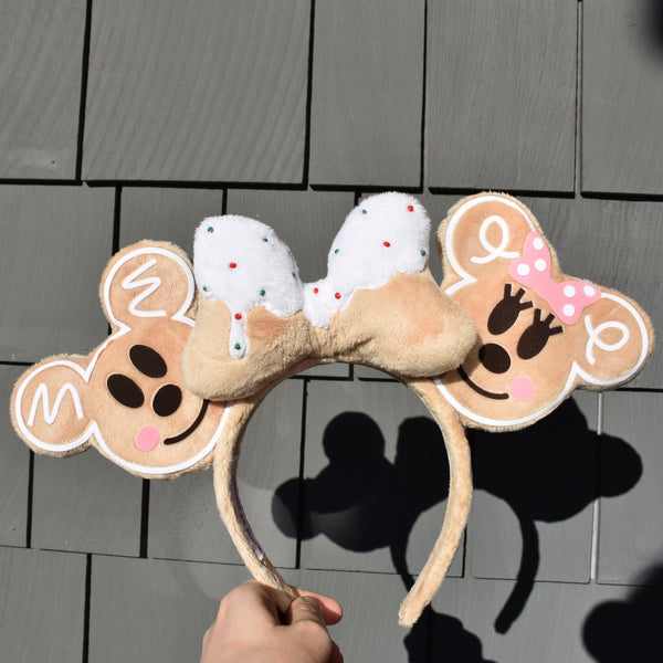 Gingerbread Mice Cookie Ears