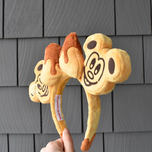 Mickey Waffle Mouse Ears - Syrup and Butter