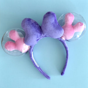 Purple and Pink Balloon Ears - Limited