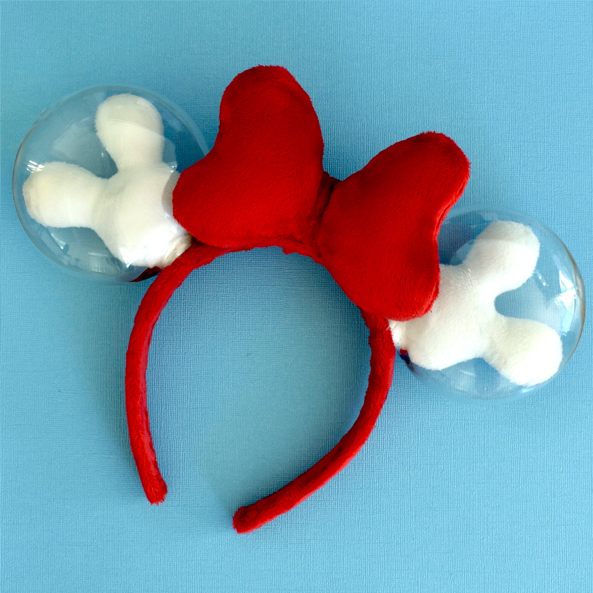 Red and White Balloon Ears - Limited