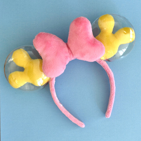 Pink and Yellow Balloon Ears - Limited