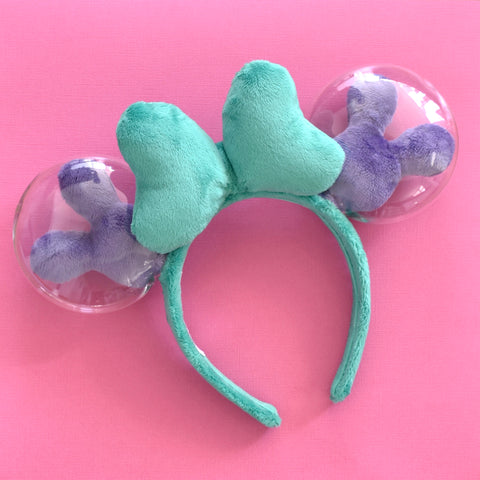 Green and Purple Balloon Ears - Limited