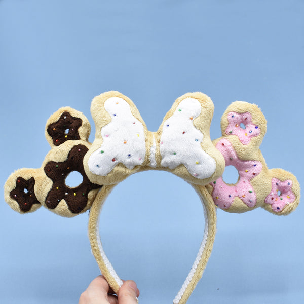 Deluxe Donut Cookie Ears