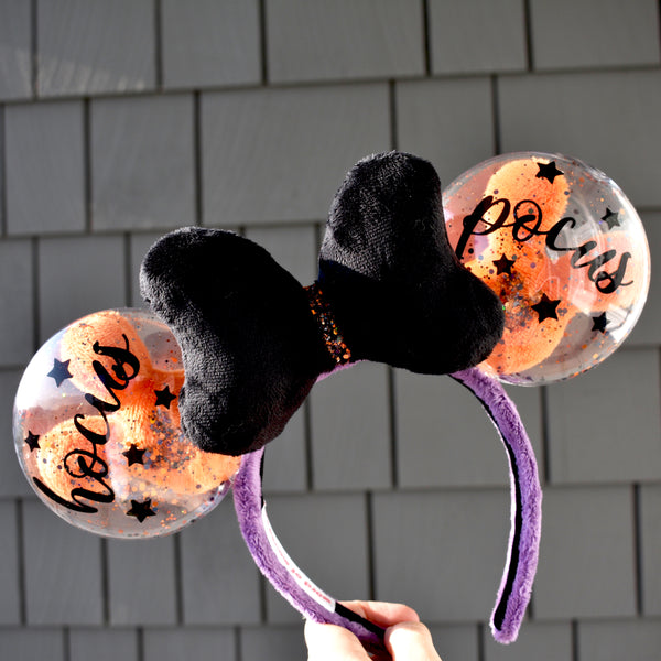Halloween Magic Balloon Ears (with removable decals)
