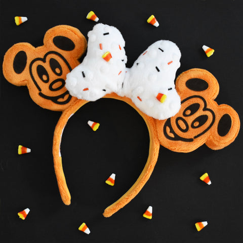 Pumpkin Spice Waffle Mouse Ears - dispatch by October 13th