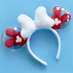 Sparkly Santa Balloon Ears