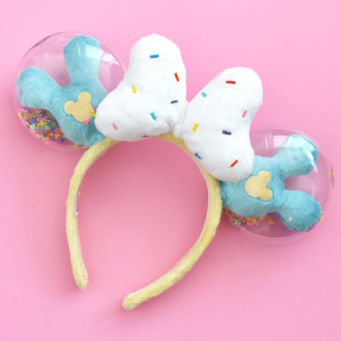 Birthday Cake Shaker Balloon Ears