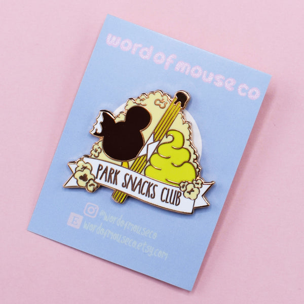 Park Snacks Club Pin Badge