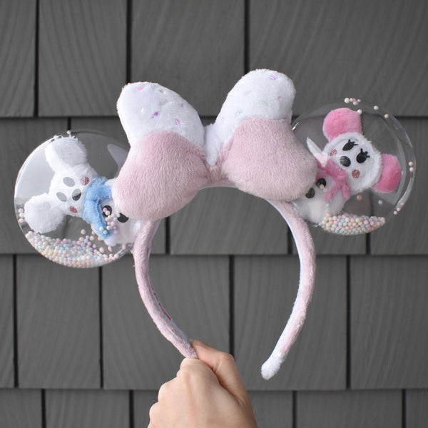 Pastel Snowmouse Ears