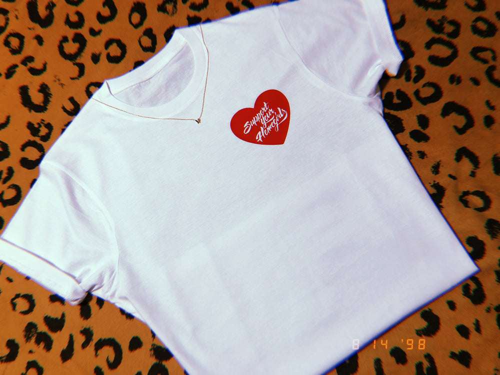 Support Your Homegirls Heart Tee ❤️