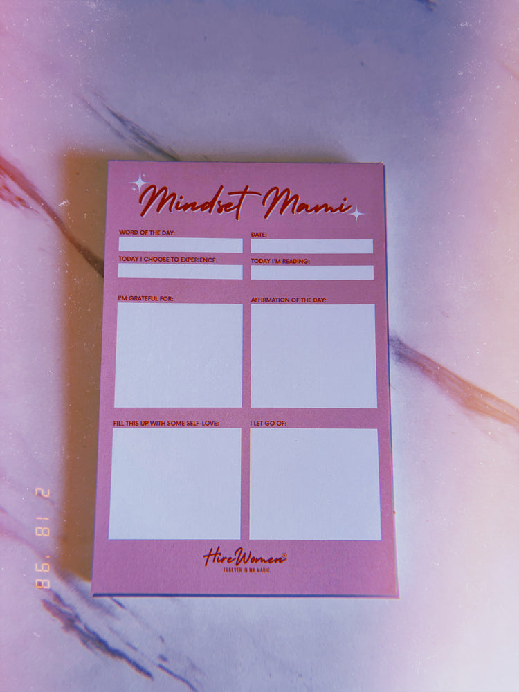 Mindset Mami Mini Notepad 💘✨