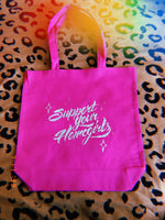 💖Support Your Homegirls💖 Pink Tote