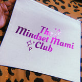 Mindset Mami Club✨ Canvas Pouch