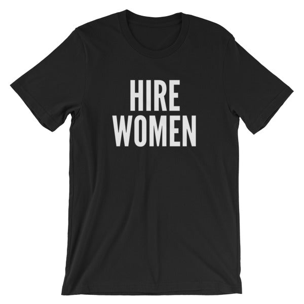 Hire Women Short-Sleeve Unisex T-Shirt