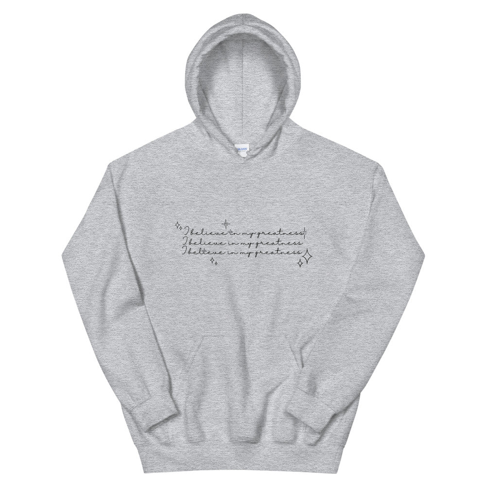 ✨I Believe In My Greatness ✨ Mindset Mami Affirmations Hoodie