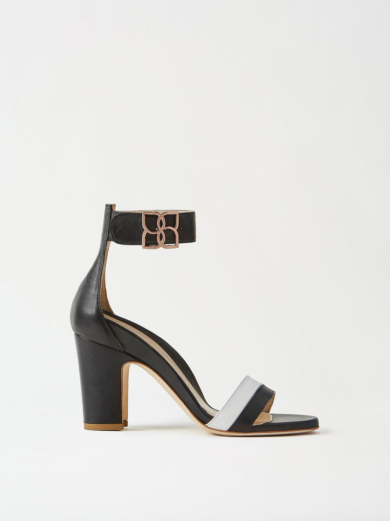 Mavette Bellaria Sandal Black Side View