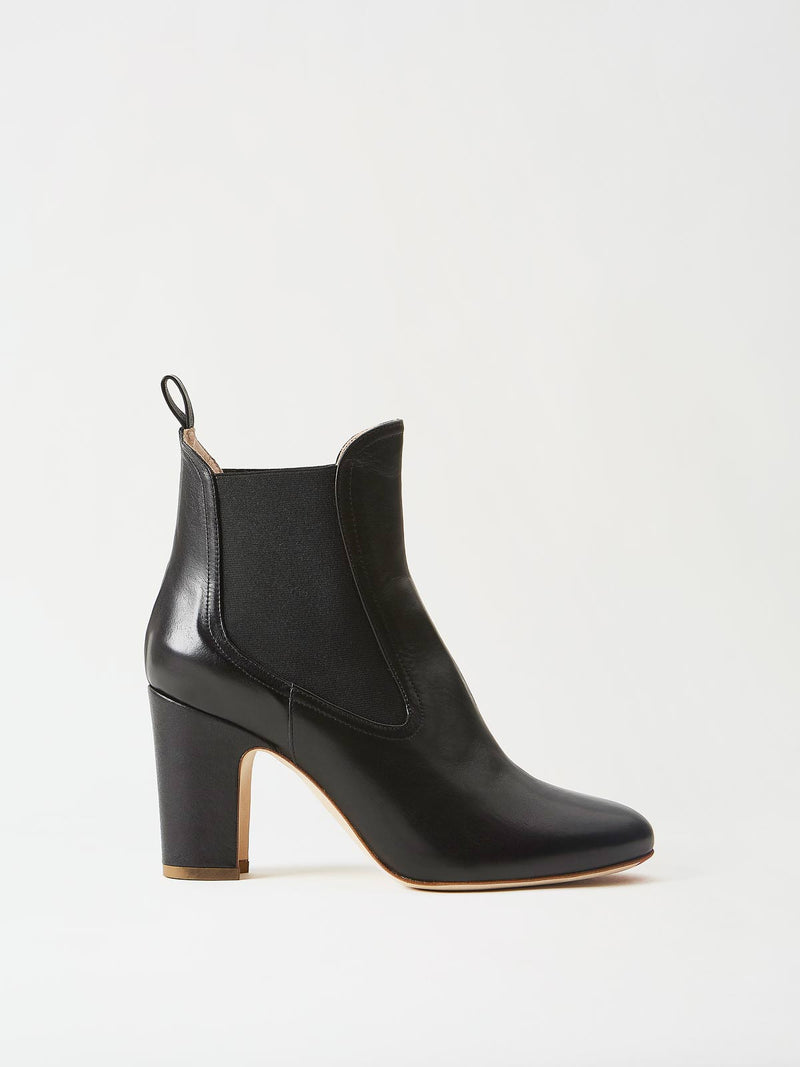 Mavette Chelsea Boot Black Side View