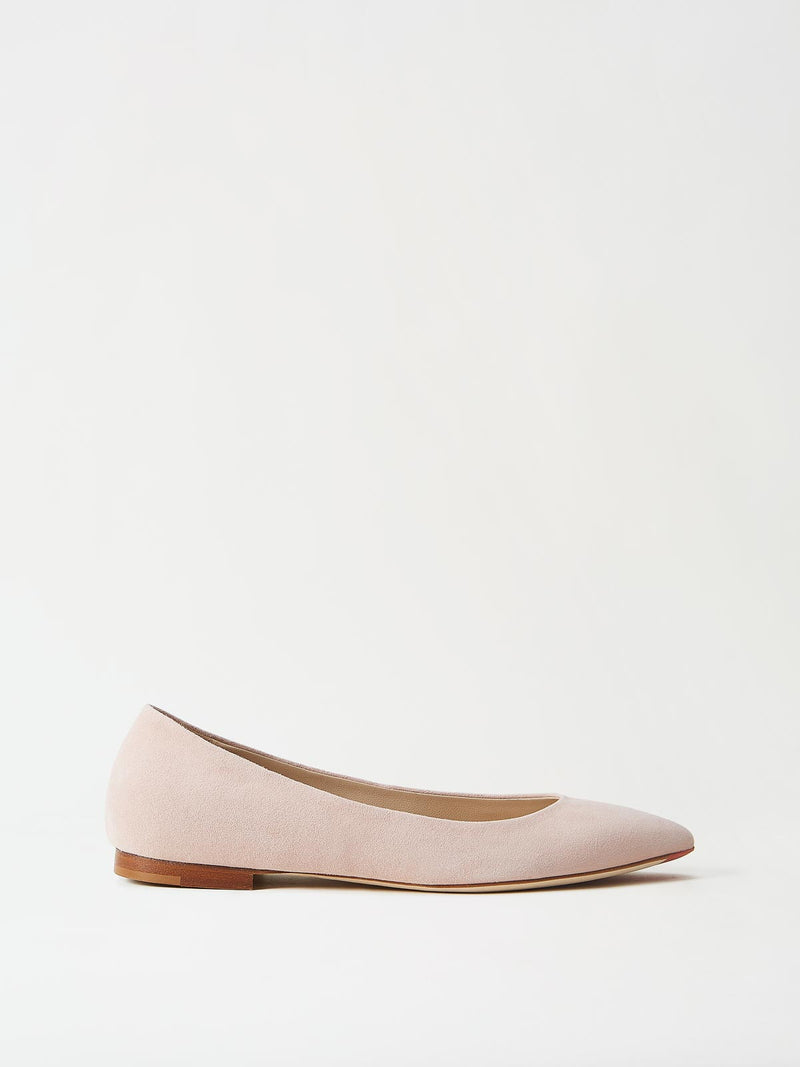 Mavette Emilia Ballet Flats Blush Side View