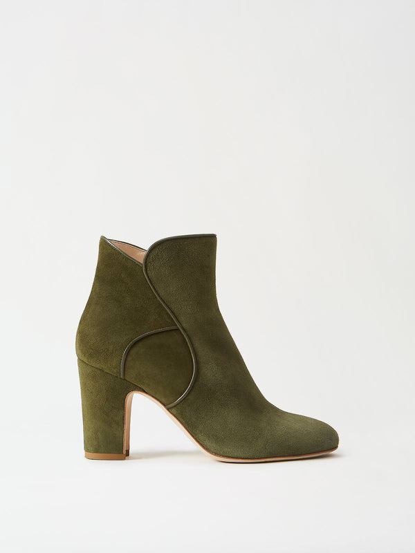 Mavette Leo Boots Green Side View