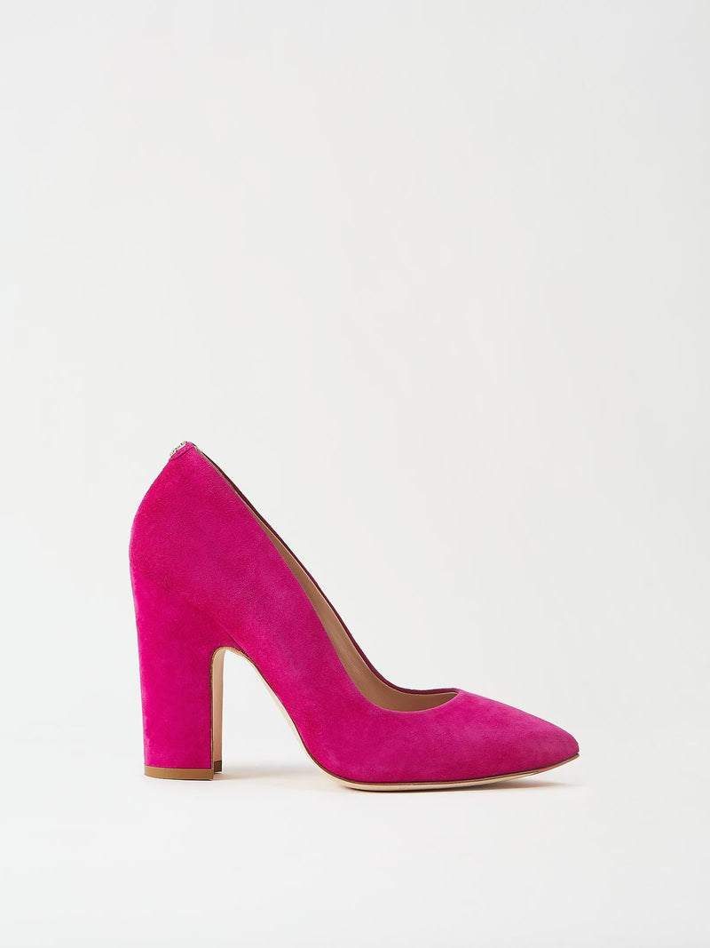 Mavette Marino Pump Pink Side View